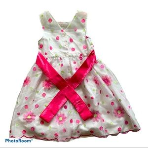 Beautiful Dotted Dress size 10 Clean and Pet free